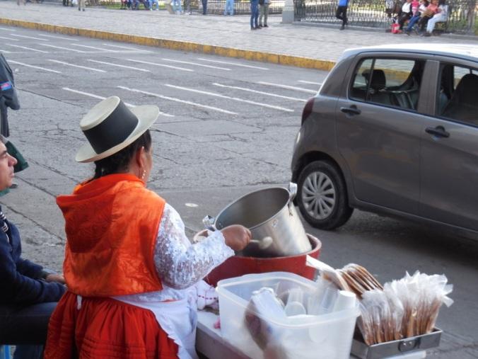 Ayacucho icecream spinner