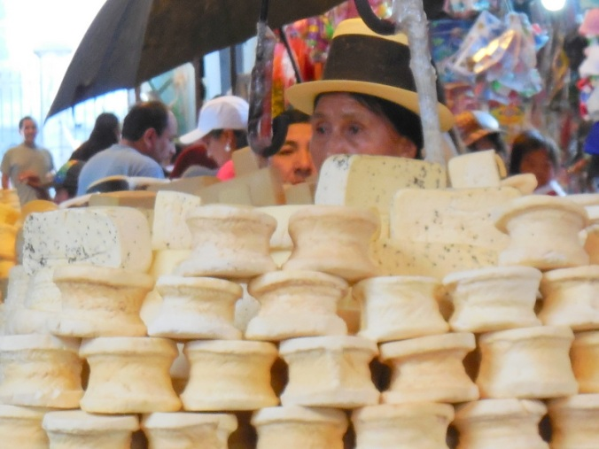 Cheese in the market 1
