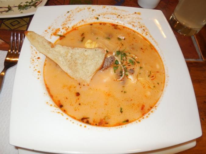 Dinner last night - Creole soup