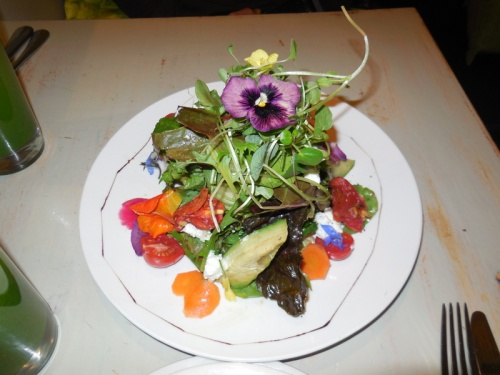 Food with flowers 1