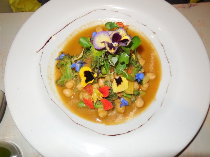 Food with flowers 2
