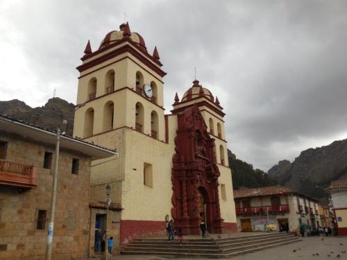 Huancavelica church