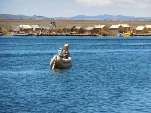 Island reed boat 9