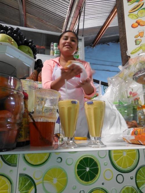 Juice seller 2