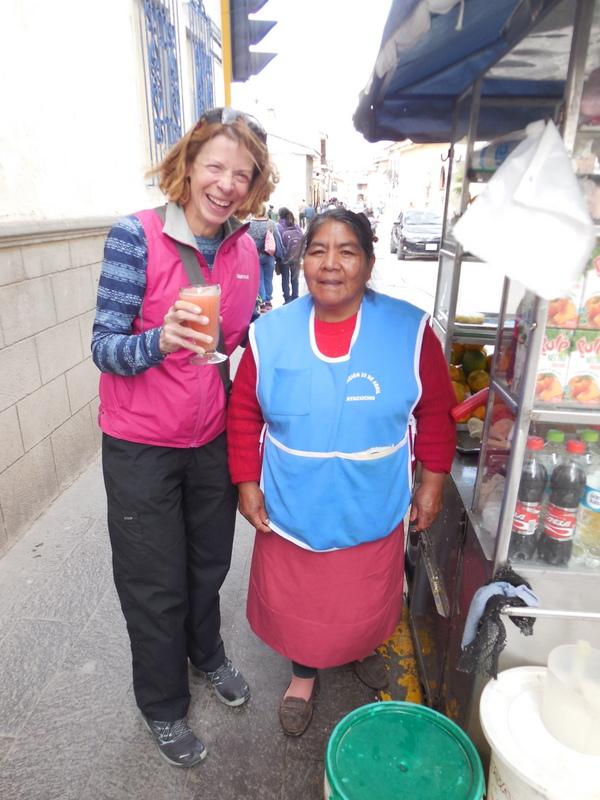 Juice seller - street 2