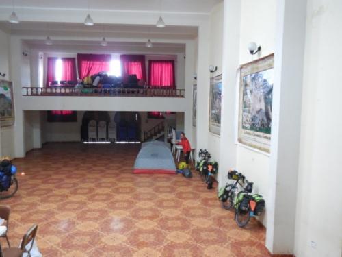 Julamaca townhall inside camp 1