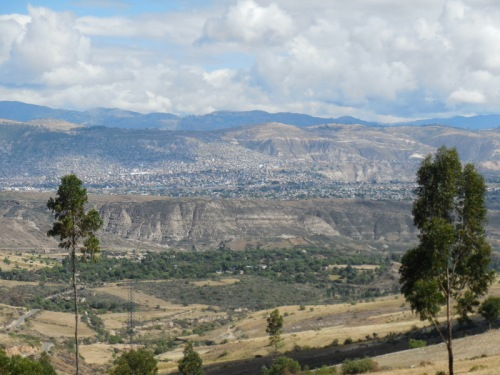 Last view of Ayacucho
