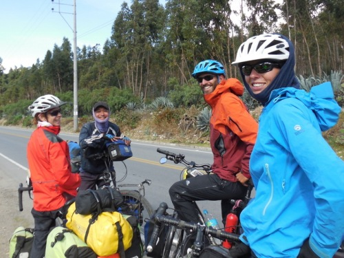 Meeting Thai cyclist