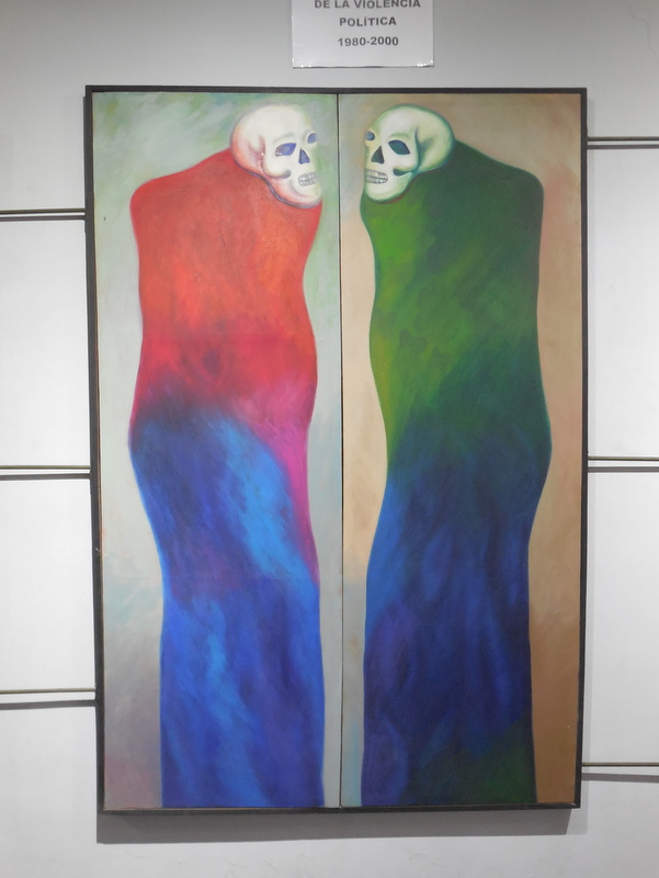 Memory Museum painting