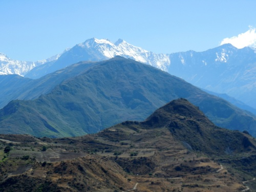Mountains near Curahuasi 8
