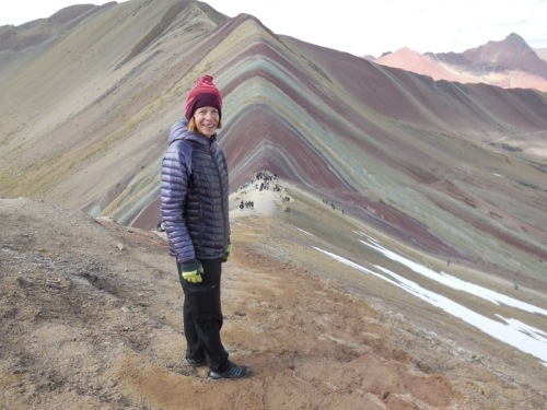 Rainbow Mountain - Nancy