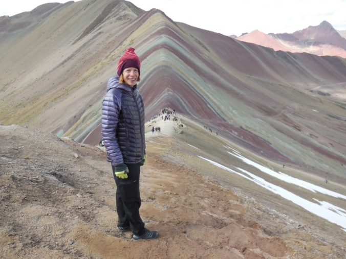 Rainbow Mountain - Nancy