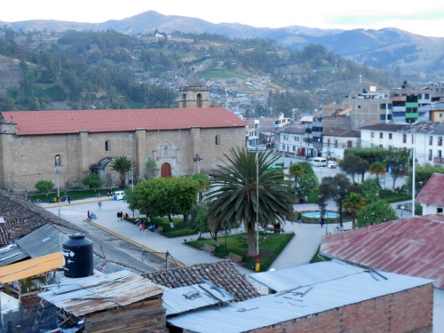 Rooftop view of the Plaza de Armas