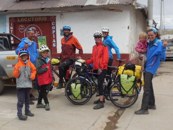 Us and the French bikeing familly 2