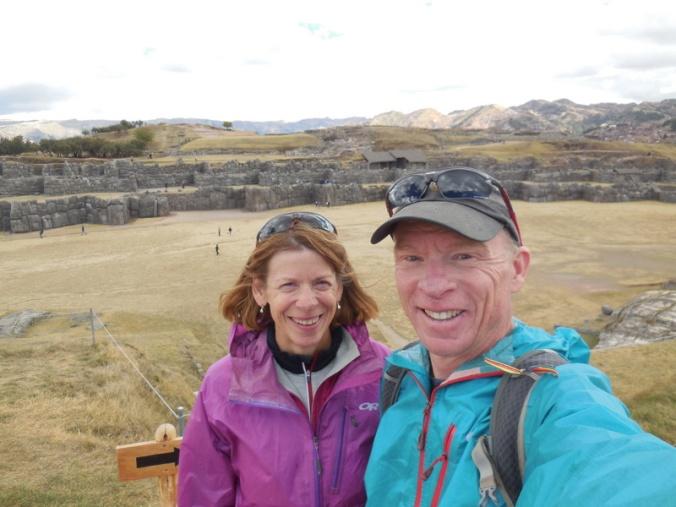 Us at Sacsayhuamán