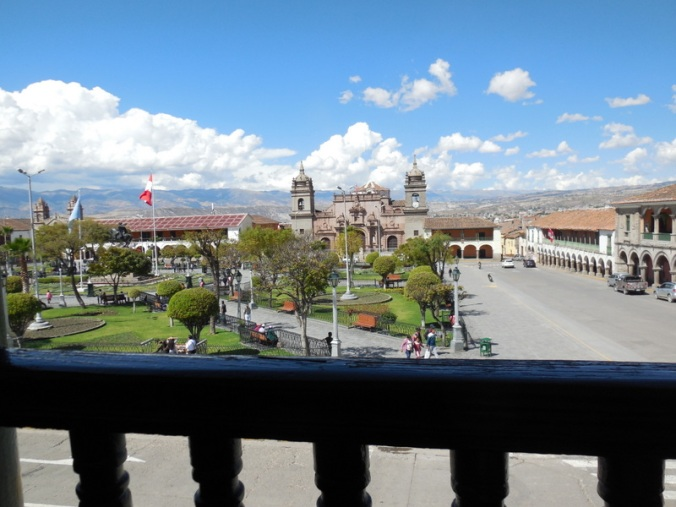 View at lunch