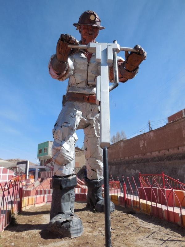 Atocha statue