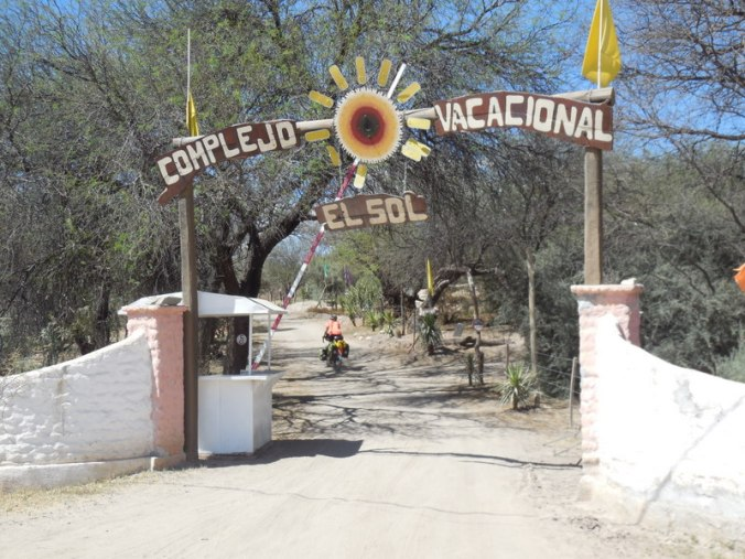 Camp entrance 12