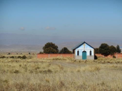Church in the haze