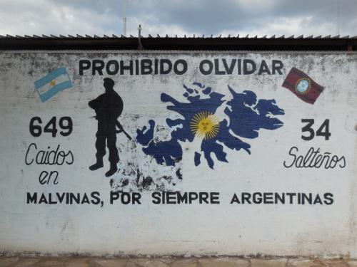 Falklands war memorial 2