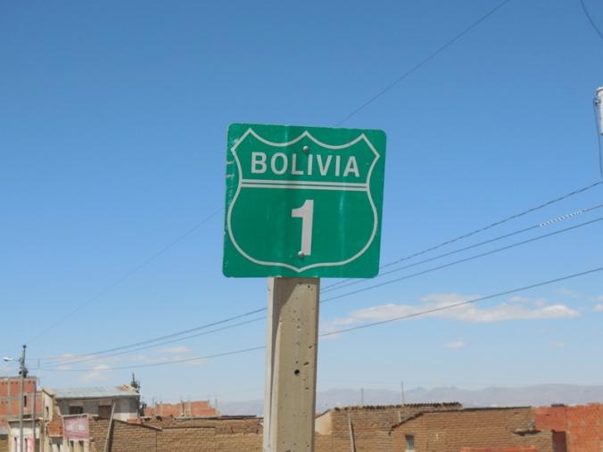Highway 1 Bolivia