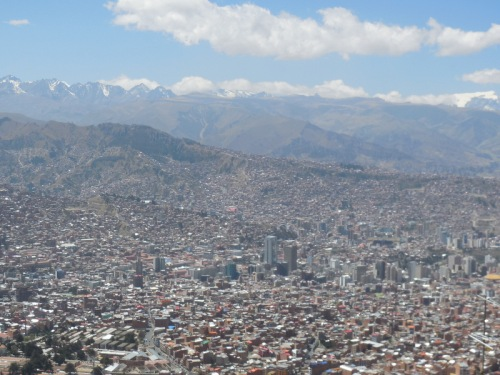 La Paz from above 3