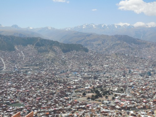 La Paz from above 4