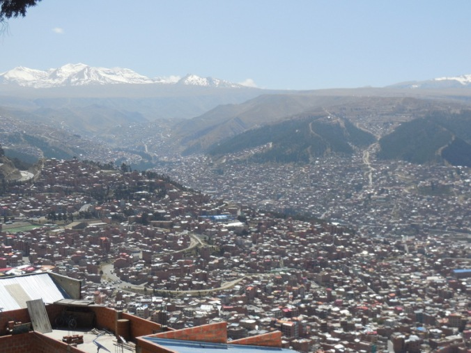 La Paz from above 5