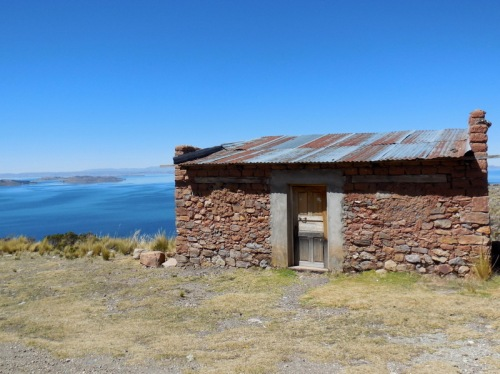Lake Titicaca home