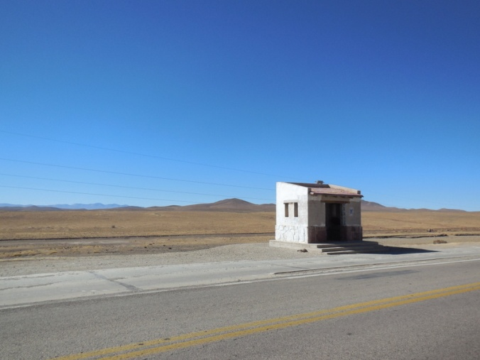 Loanly bus stop