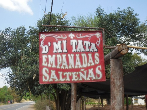 Lunch at the empanada stand 12