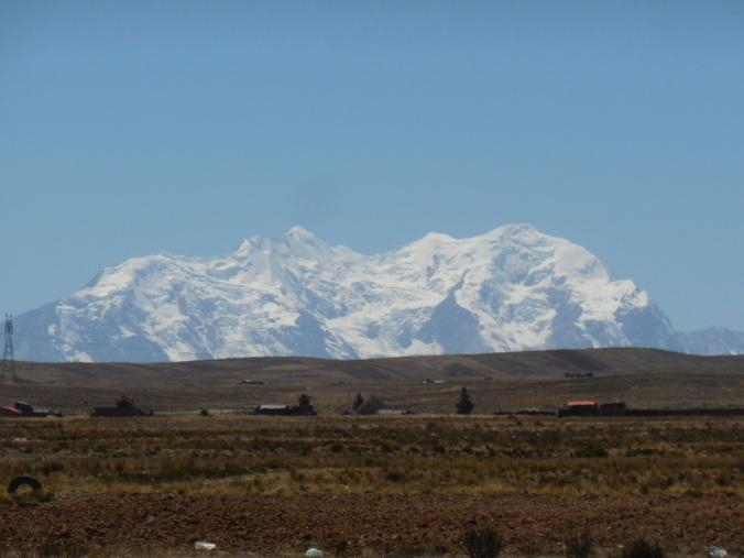 Mountains near La Paz