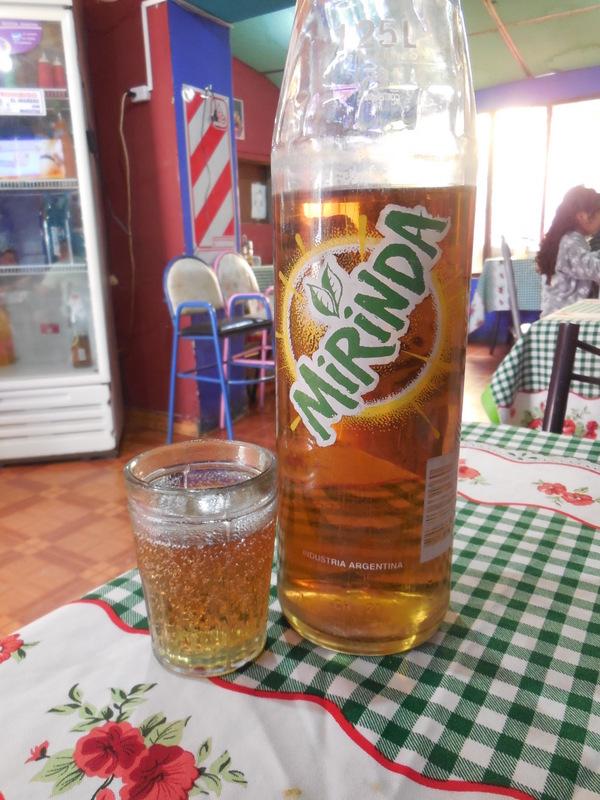 New drink - lit ginger ale
