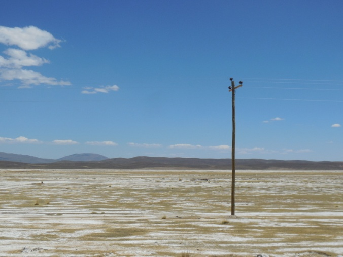Nothingness and a pole