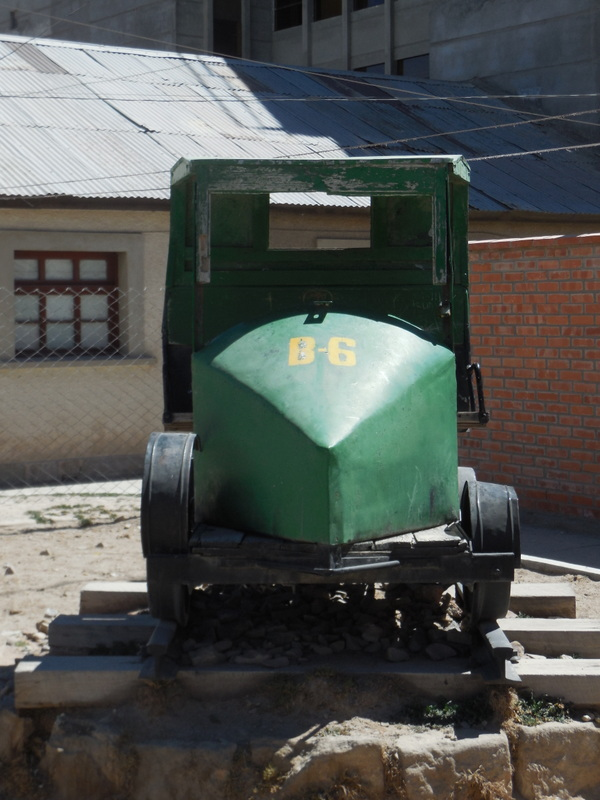 Old work car