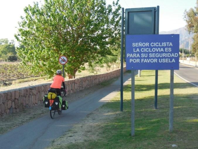 Senorita bike path