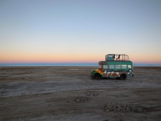 Sunrise bus