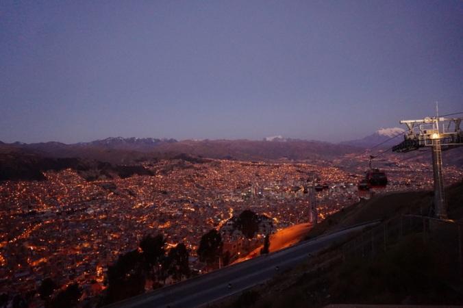 Sunset in La Paz
