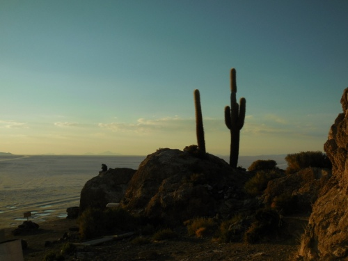Sunset on the island 1