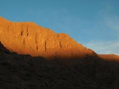 Sunset over Tupiza last night