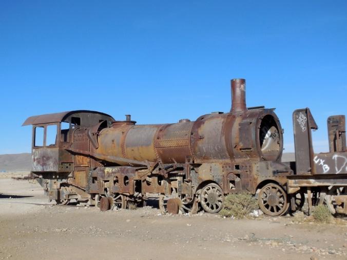 Train cemertery 8