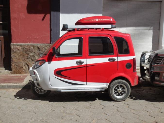 Tupiza fancy tuktuk