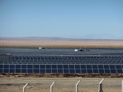Uyuni solar plant 1