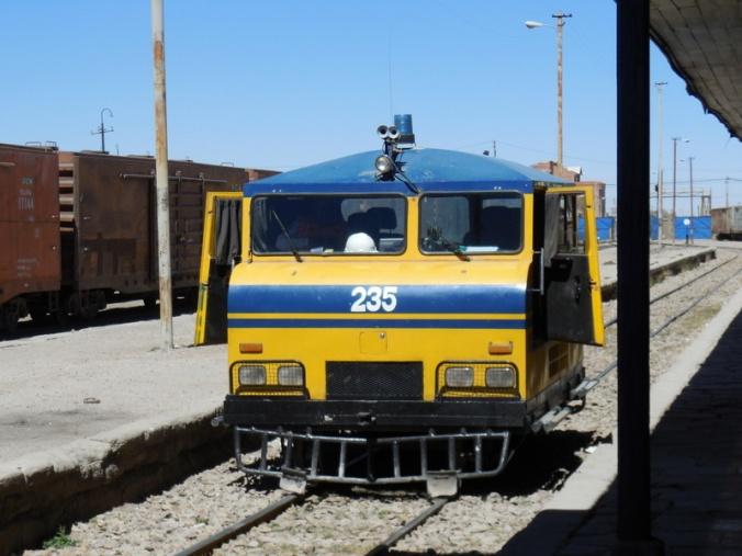 Working service train