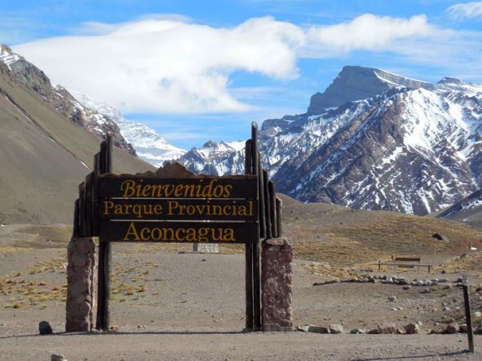 Aconcagua sign