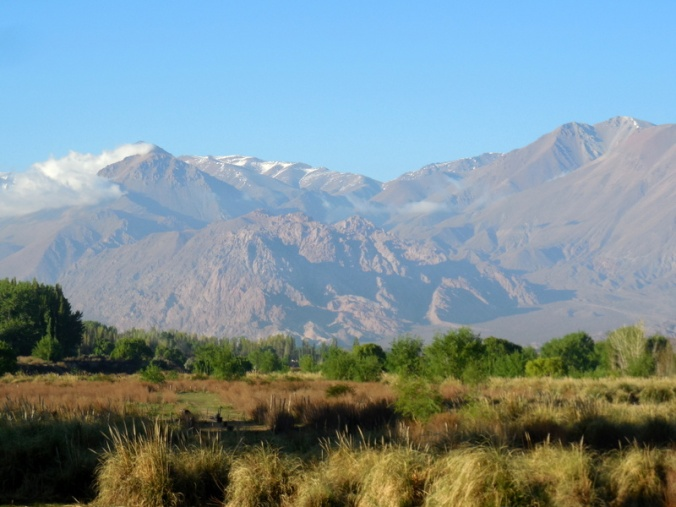 Andes foothills in the morning 3