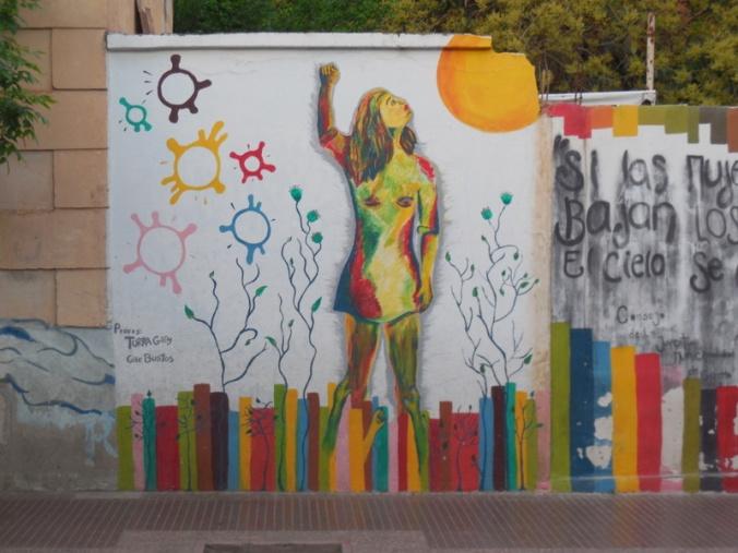 Chilecito mural