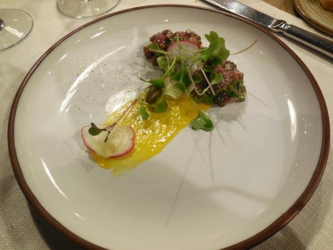 Dinner - Beef tarter