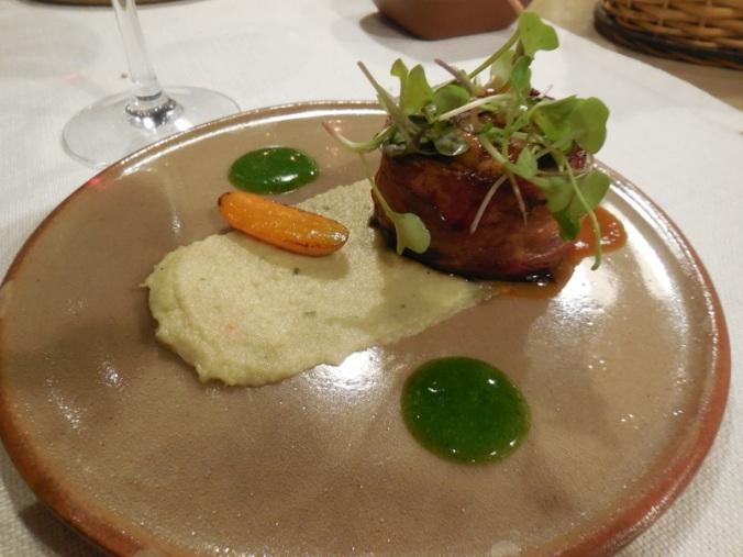 Dinner - roasted rabbit