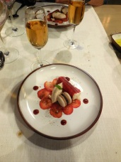 Dinners - Strawberries and chocolate